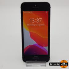 Iphone SE 16GB Space Gray - In Gebruikte Staat