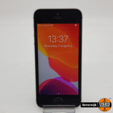 Iphone SE 16GB Space Gray - In Goede Staat