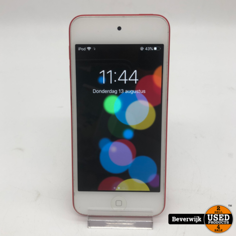 Apple iPod Touch 2019 32GB Red MP3 - In goede Staat