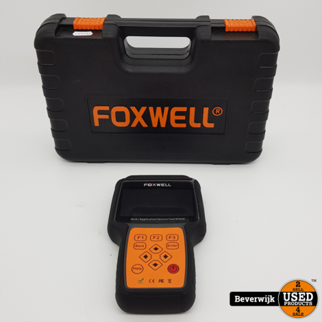 Foxwell NT650 Diagnose Scantool OBD1/OBD2/EOBD - In Goede Staat