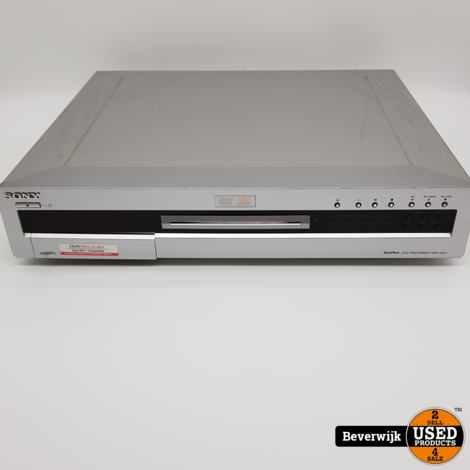 Sony DVD Recorder RDR-GX3 Silver - In Goede Staat