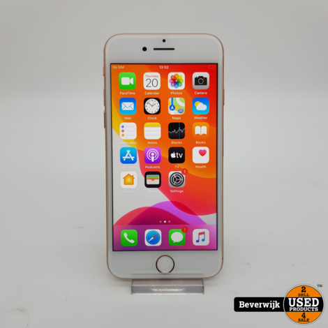 iPhone 8 64GB Gold Accu 86% - In Goede Staat