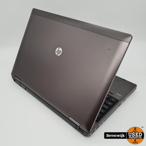 HP ProBook 6560b 4GB RAM 120GB SSD WIN10 - In Goede Staat