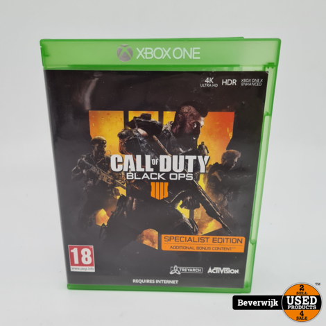 Call of Duty Black Ops 4 - Xbox One Game