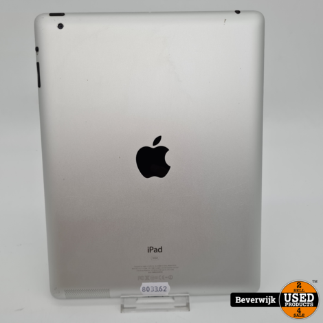 Apple iPad 2 16 GB Space Gray - In Goede Staat