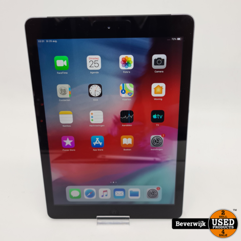 iPad Air 32GB Cellular + Wi-Fi Space Gray - In Goede Staat