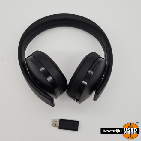 Sony Playstation Gold Wireless Headset 7.1 Surround - In Goede Staat