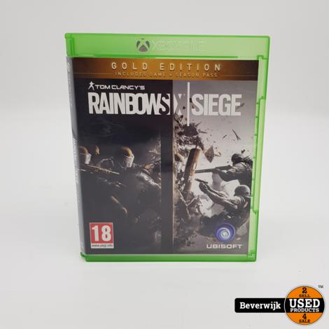 Rainbow Six Siege - Gold Edition - XBOX ONE Game