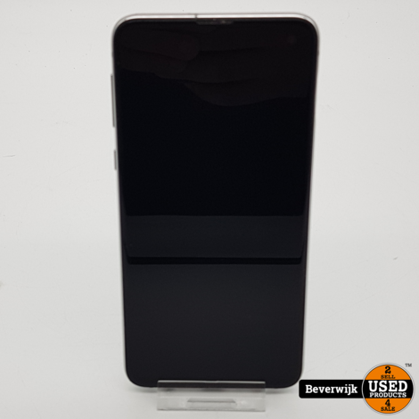 Samsung Galaxy S10e - Zeer Goede Staat - Prism White