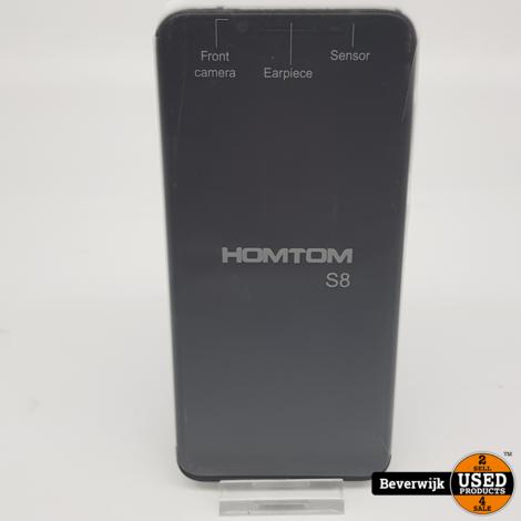Homtom S8 64GB Blue 4GB Ram - Nieuw