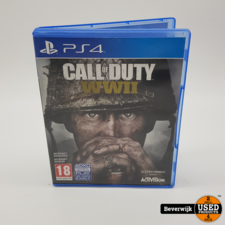 Sony Call of Duty WWII PS4 Game - In Prima Staat