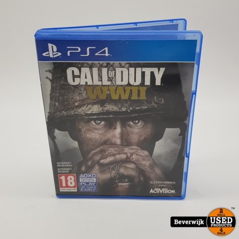 Call of Duty WWII PS4 Game - In Prima Staat