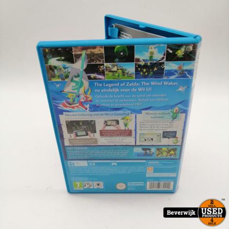 The Legend of Zelda the Windwaker  - Nintendo Wii U Game
