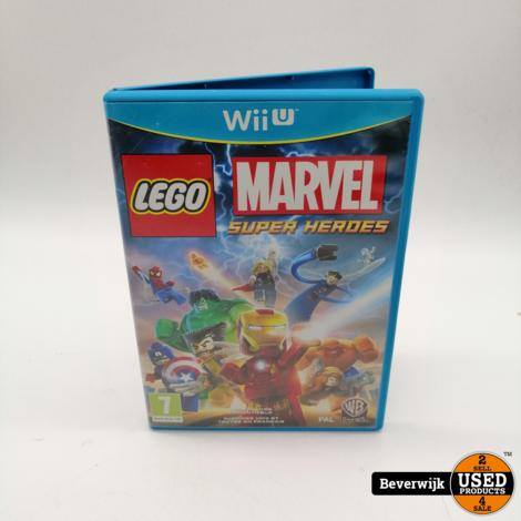 Lego Marvel Super Hero Heroes - Wii U Games
