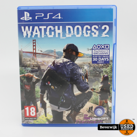 Watchs Dogs 2 - PS4 Game