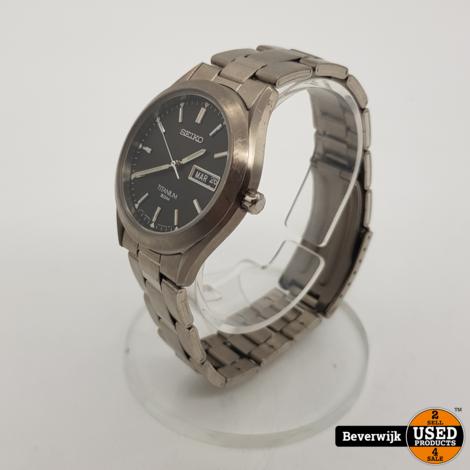 Seiko Titanium 331307 Heren Horloge - In goede Staat