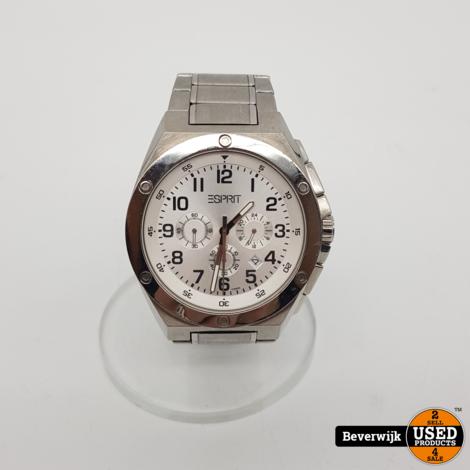 Esprit 101981 Heren Horloge - in goede Staat