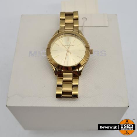 Michael Kors MK-3512 Dameshorloge Gold -