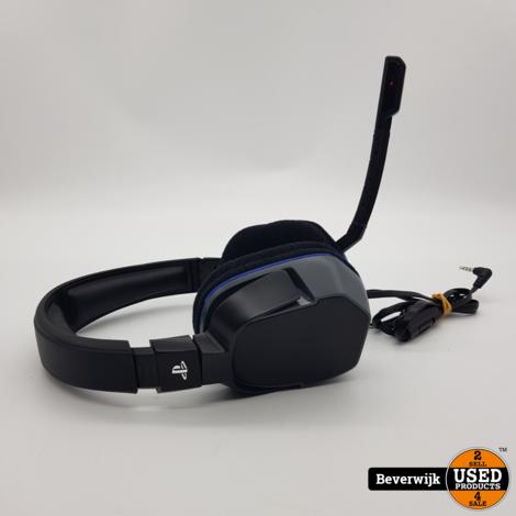 Sony Playstation 4 Headset Afterglow in Zeer Nette Staat