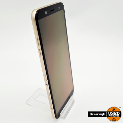 Samsung Galaxy A6 32GB Gold - In Goede Staat