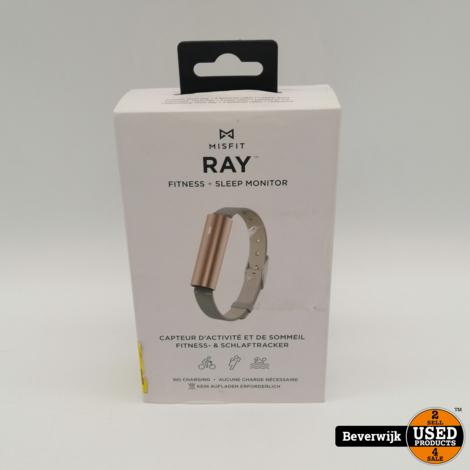 MisFit Ray - Finess + Sleep Monitor Wit - Nieuw!