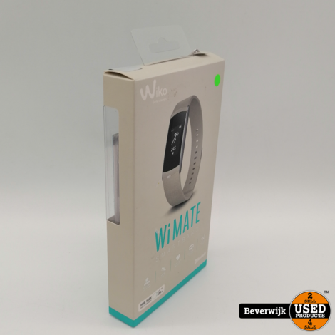 Wiko Wimate Smartwatch Grijs - Nieuw!
