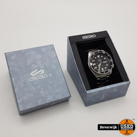 Seiko 4R36-07G0 Zilver - In Zeer Nette Staat