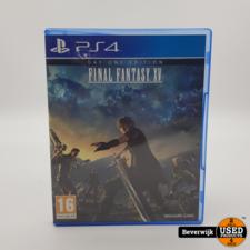 Sony Final Fantasy Xv PS4 Game - In Prima Staat