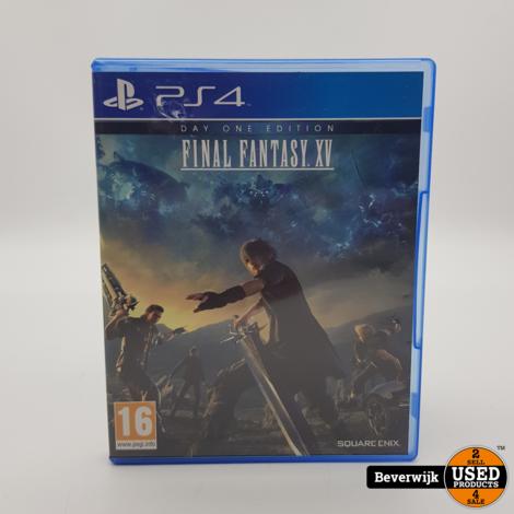 Final Fantasy Xv PS4 Game - In Prima Staat
