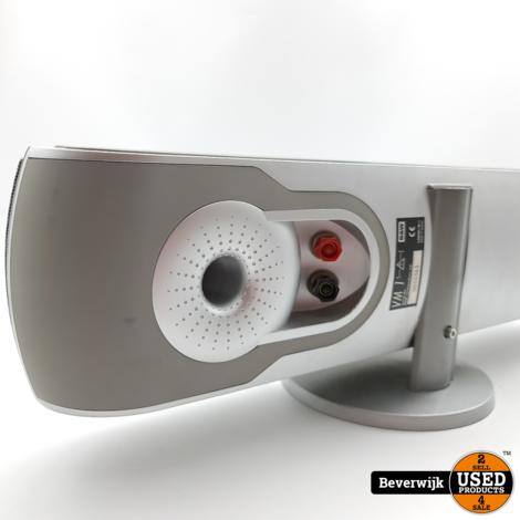 B&W Bowers & Wilkins VM 1 Center Speaker 100 Watt Zilver - In Nette Staat