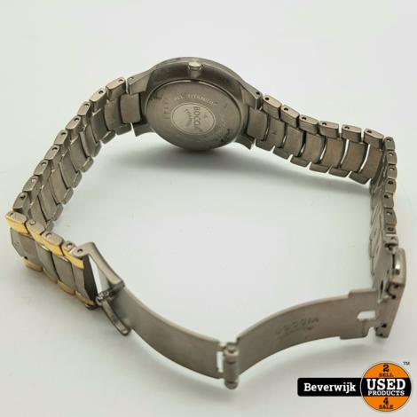 Boccia Titanium 3191-03 Dames Horloge Quartz - In Nette Staat