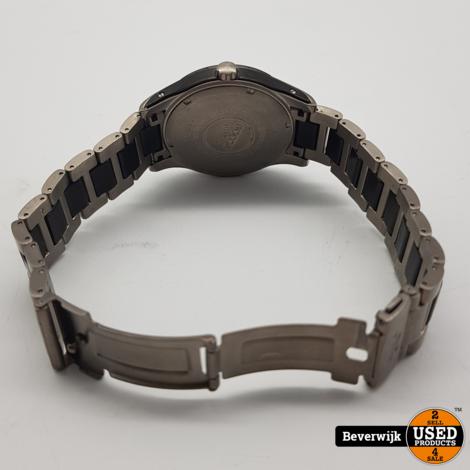 Boccia Titanium 3555-02 Heren Horloge Quartz - In Nette Staat