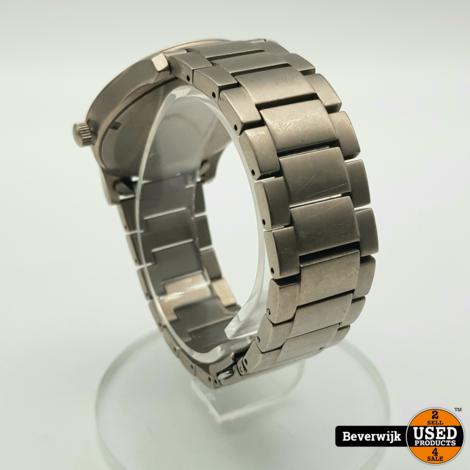 Boccia Titanium 3550-02 Heren Horloge - In Nette Staat