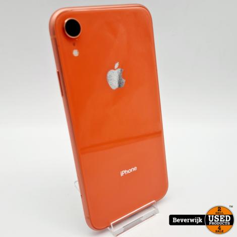 Apple iPhone XR 128GB Orange Accu 94 - In Prima Staat