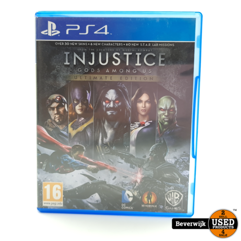 Injustice Gods among Us PS4 Game - In Nette Staat
