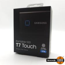 Samsung Samsung T7 SSD 2TB Externe SSD Met Vingerafdruk - NIEUW