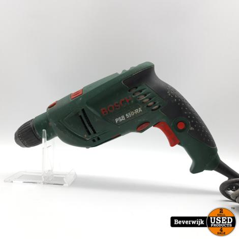 Bosch PSB 550 RA Boormachine 550 Watt - In Goede Staat