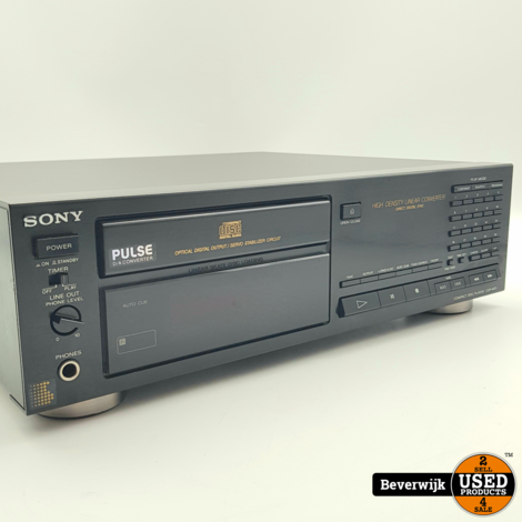 Sony CDP-M71 CD Speler incl Afstandsbediening - In Goede Staat