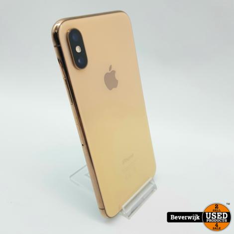 Apple iPhone XS 64 GB Goud - In Nette Staat