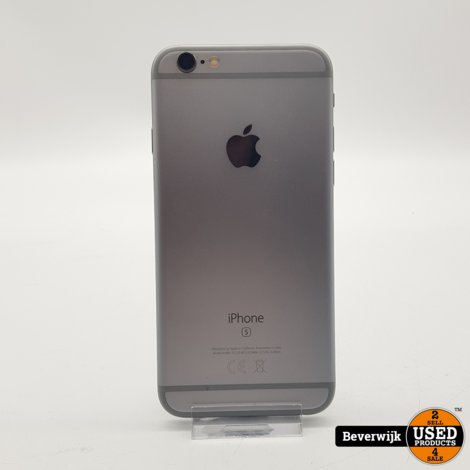 Apple iPhone 6s 32GB Space Gray - In Nette Staat