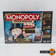 Monopoly Extreem Bankieren Bordspel - In Prima Staat
