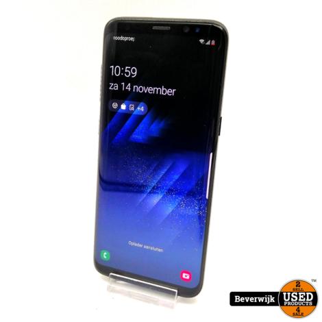 Samsung Galaxy S8 64GB Zwart - Barst op de Display