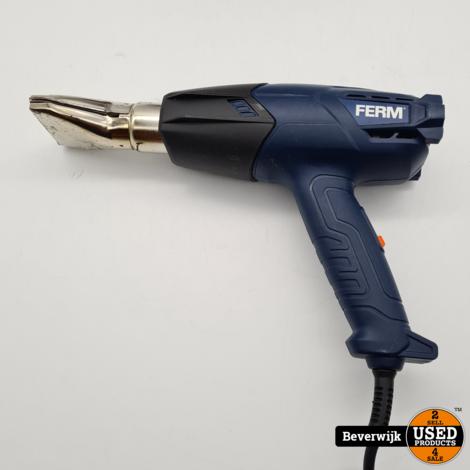 Ferm Hot Air Gun 2000 watt - Heteluchtpistool - Goede Staat