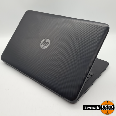 hp 15-ac125nd laptop i3 4GB 128GB SSD - In Nette Staat