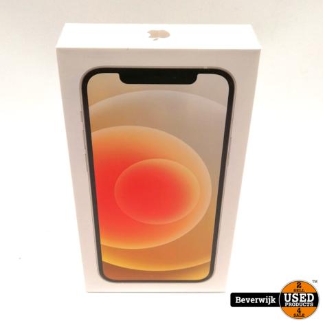 Apple iPhone 12 128 GB Wit 5G - Nieuw in Seal