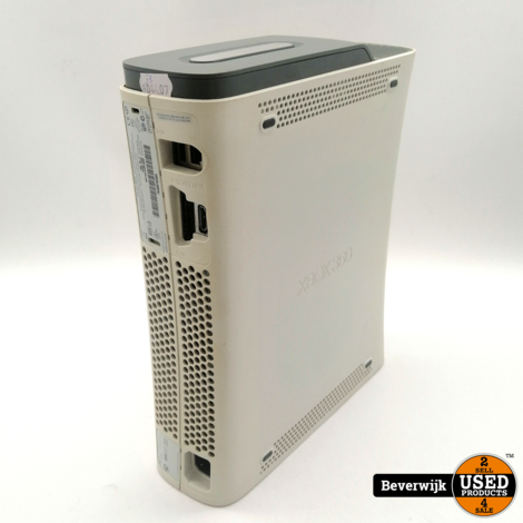 Microsoft Xbox 360 Arcade 60 GB Wit - In Goede Staat