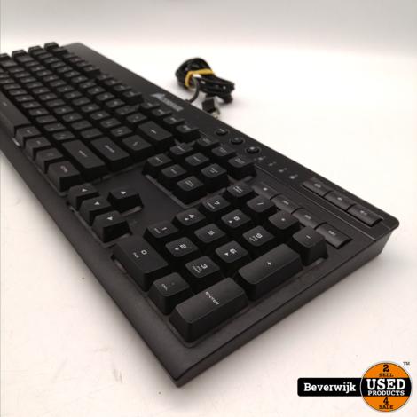 Corsair K55 RGB Toetsenbord Gaming Keyboard - Zo Goed Als Nieuw