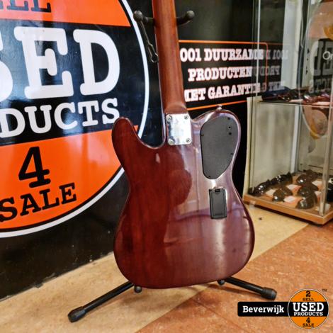 J.N Guitars EW3000CBK Semi Akoestische Gitaar Solid Body - ZGAN