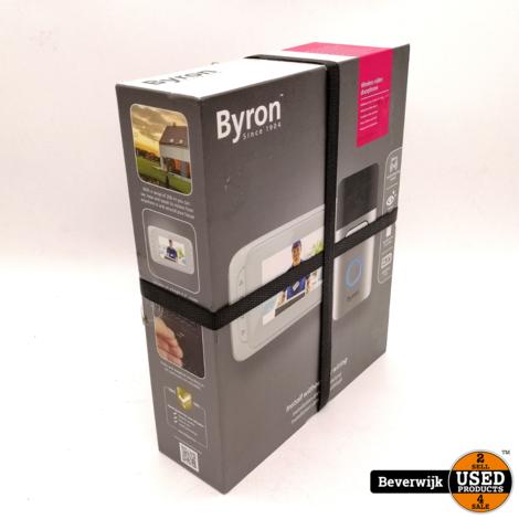 Byron Video Deurbel - Nieuw!