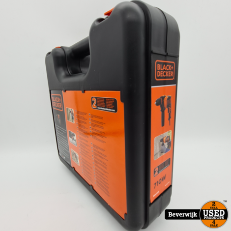 Black & Decker BEH710K 710Watt Boormachine - NIEUW!